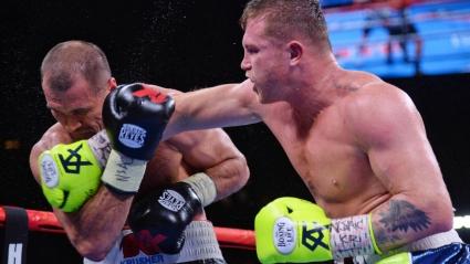 Сауль Альварес брутально нокаутировал Сергея Ковалева в 11-м раунде