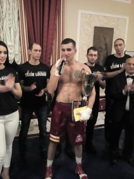 Во Владикавказе прошел турнир по профессиональному боксу