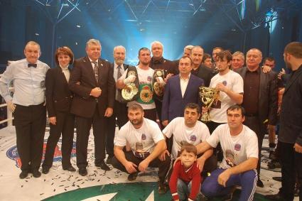 Вечер профессионального бокса в г. Грозный 30 ноября