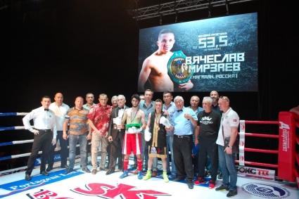 Вячеслав Мирзаев проведет бой 10 ноября в Краснодаре